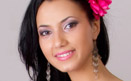 Hostesa Ramona, model videochat profesionist in studioul din Bucuresti.